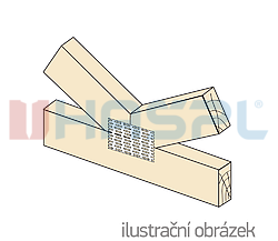 Nagelplatte 24x105x1,0 - 2