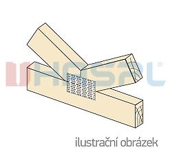 Nagelplatte 126x252x1,5 - 2