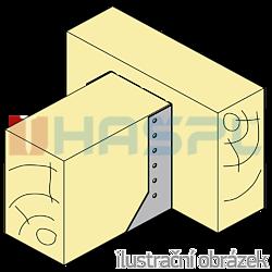Balkenschuhe nach Innen 80x160x2 - 2