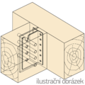T-Balkenträger Typ 2 160x80x2,0 - 2/3