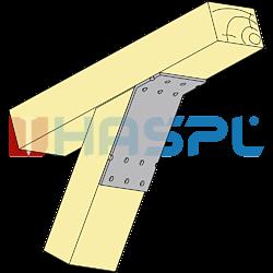 Winkelverbinder 135° Typ 2 120x90x30x2,5 - 2