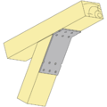 Winkelverbinder 135° Typ 2 120x90x30x2,5 - 2/3