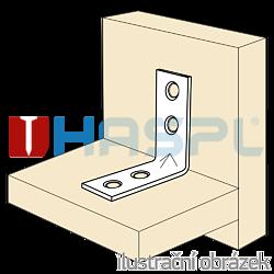 Winkelverbinder 90° Typ 4 für Möbel 16x35x35x1,5 - 2