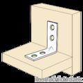 Winkelverbinder 90° Typ 4 für Möbel 16x35x35x1,5 - 2/3