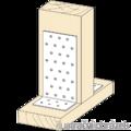 Winkelverbinder 90° Typ 1 40x40x40x1,5 - 2/3