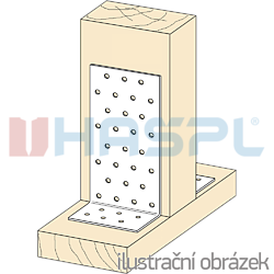 Winkelverbinder 90° Typ 1 100x40x40x2,0 - 2
