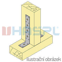 Winkelverbinder 90° Typ 3 40x240x60x3,0 - 2