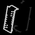 Gerberverbindere, schräg 220x30x75x2,0 - 3/3