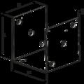 Pfostenlasche Form U 100x100x4,0 - 3/3