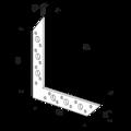 L - Flachverbinder 130x130x32x2,0 - 3/3