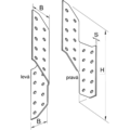 Sparrenpfettenanker 290x2,0 - 3/3