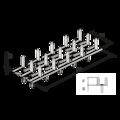 Nagelplatte,  beiderseitig 35x84x1,5 - 3/3