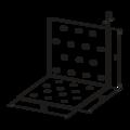 Winkelverbinder 90° Typ 1  120x120x120x3,0 - 3/3