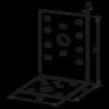 Winkelverbinder 90° Typ 2 80x100x65x3,0 - 3/3