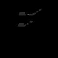 Winkelverbinder 90° Typ 4 mit Rippe 55x70x70x2,0 - 3/3