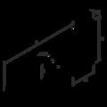 Kreuzgehänge I 195x35x2,5 - 3/3