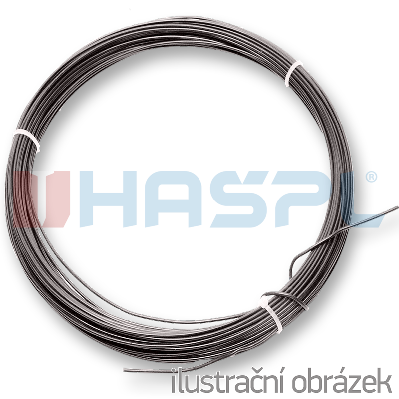 Hašpl a.s. - schwarz geglühter Draht CB 3,8 mm in 2 Kgs Ringen - We ...