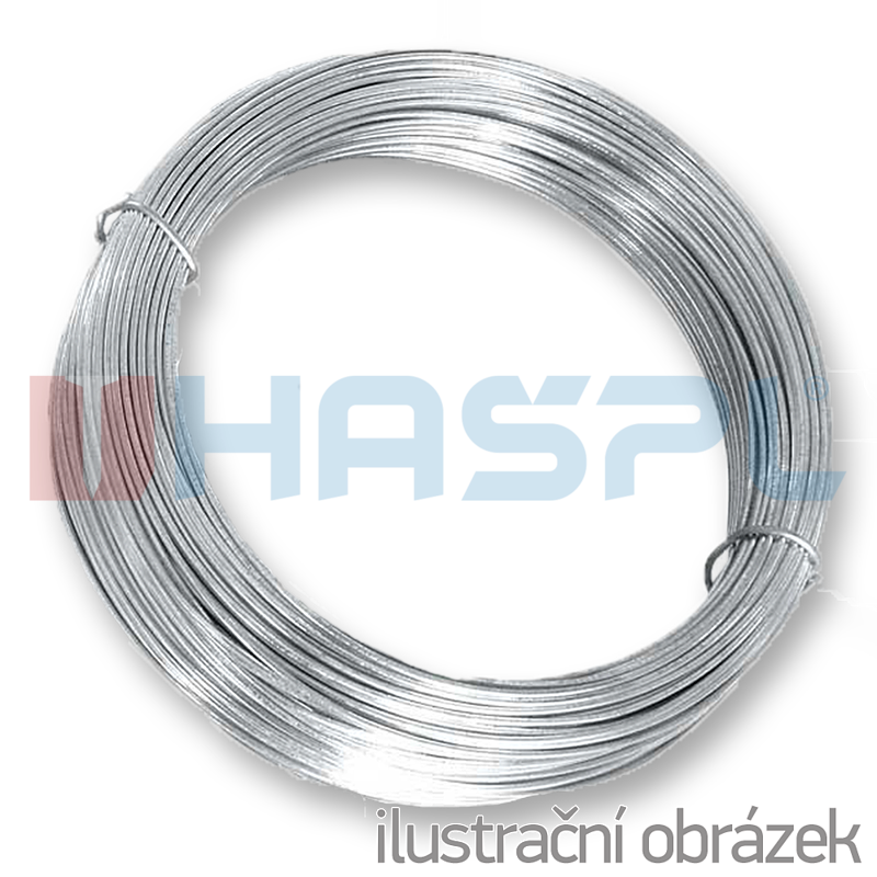 Hašpl a.s. - Draht weich geglüht, verzinkt 2,2 mm - 5 kg Ring - We ...